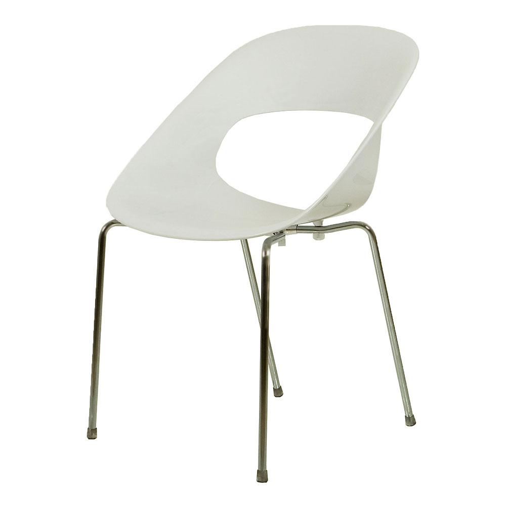 bozzi sedie tribeca bianca
