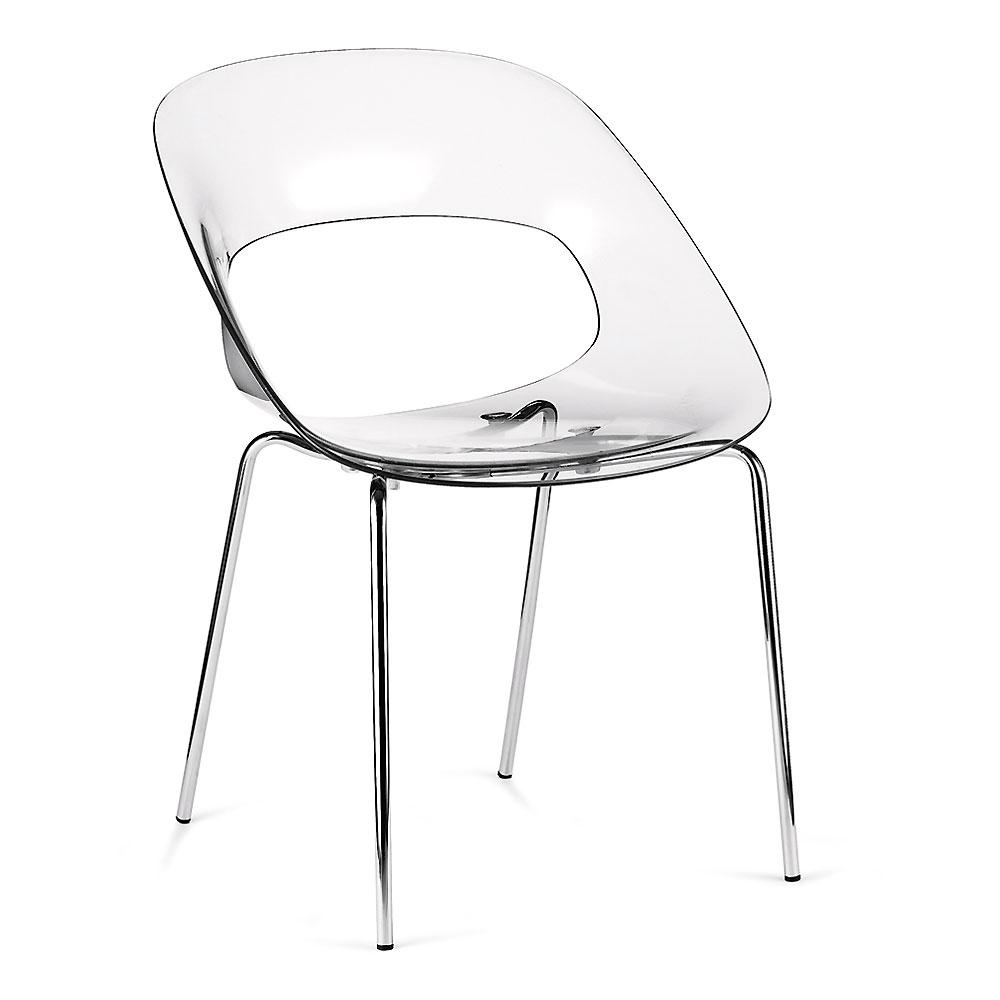 bozzi sedie tribeca trasparente